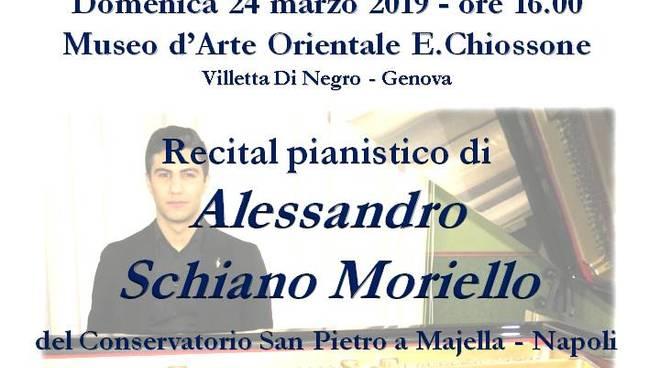 Concerto Pianistico Alessandro Schiano Moriello Genova