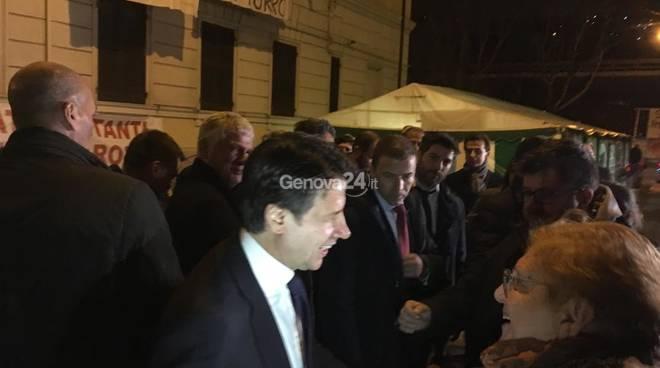 Conte a Genova per Limes e Zona Arancione
