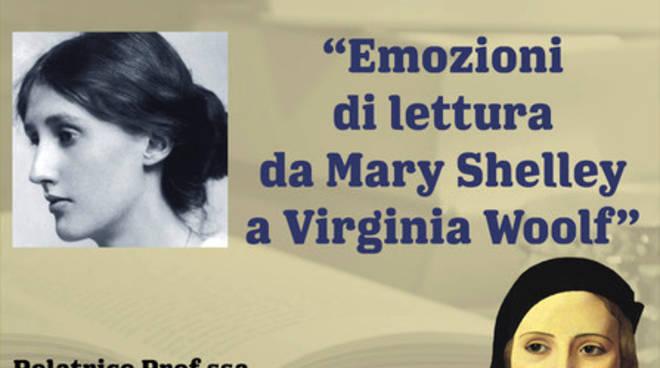 """""""Emozioni di lettura da Mary Shelley a Virginia Woolf"""" conferenza Albenga"""
