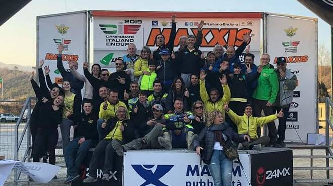 Enduro major a Villanova d'Albenga