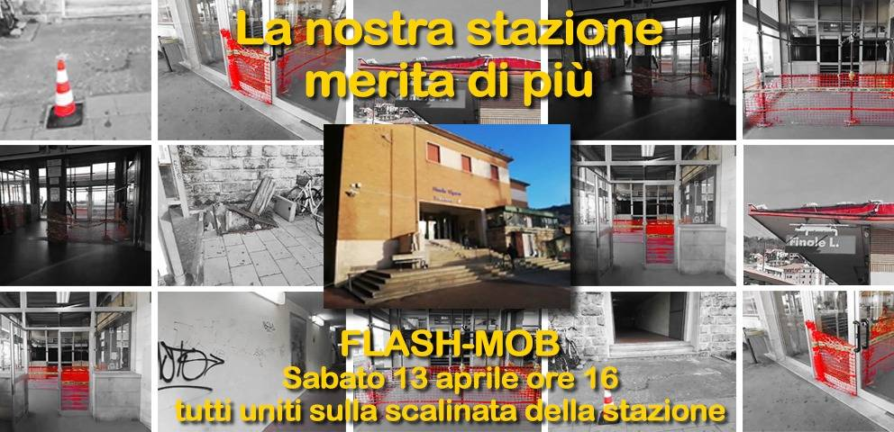 flash mob stazione finale
