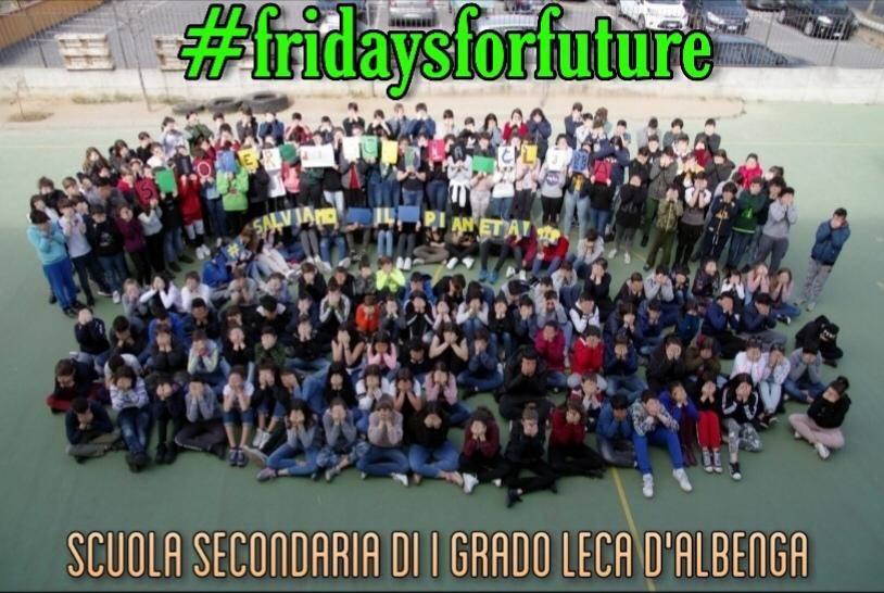 Fridays for future Leca d'Albenga