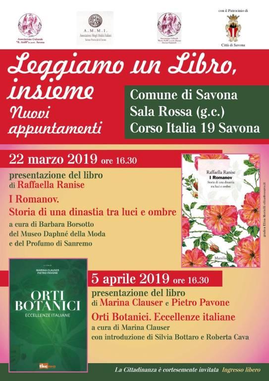 """""""Leggiamo insieme un libro"""" - Associazione Aiolfi Savona"""