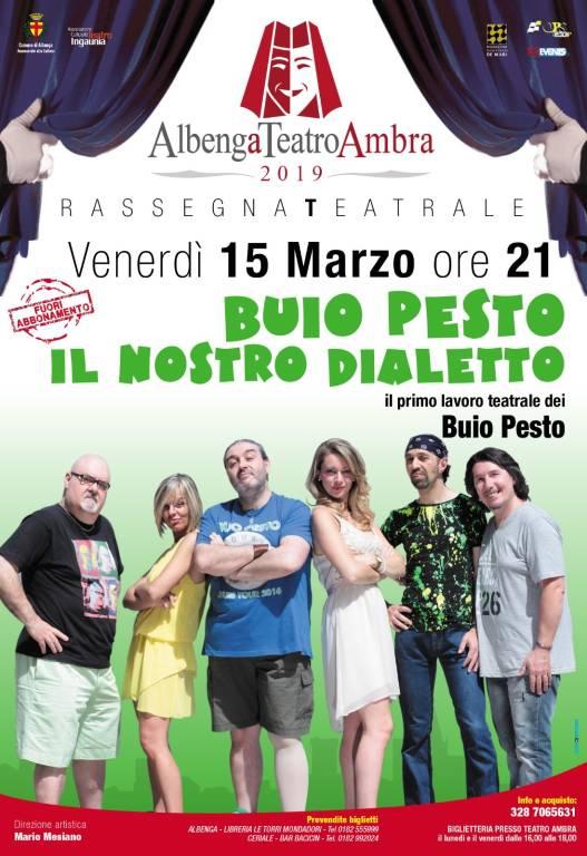 """""""Il Nostro Dialetto"""" spettacolo in genovese Buio Pesto Albenga"""