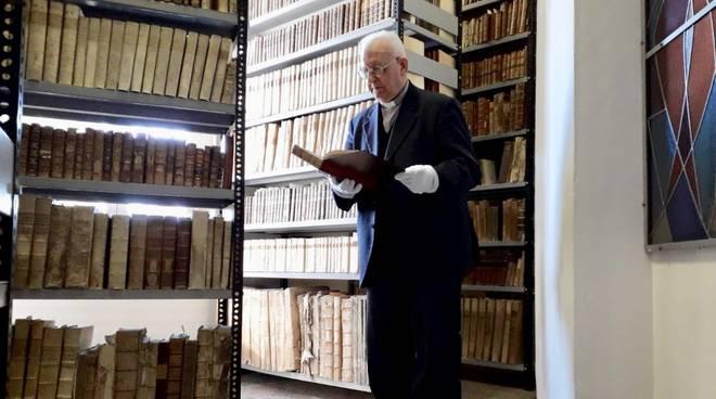 Inaugurazione biblioteca diocesana Albenga