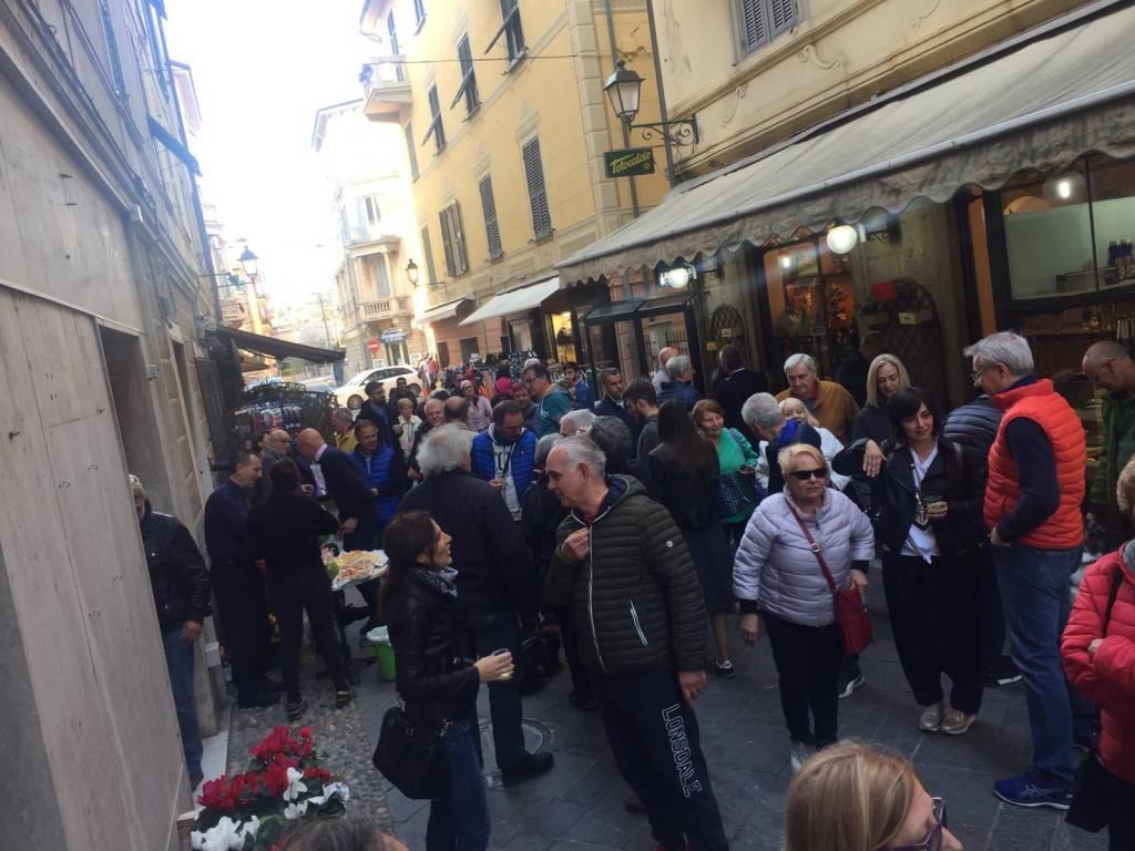 Inaugurazione punto incontro Baccino Albisola