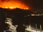 Incendio Cogoleto Varazze