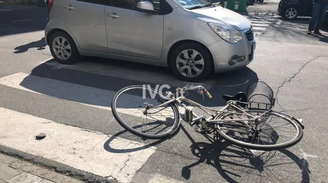Incidente ciclista Savona