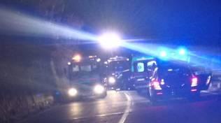 incidente notte generico ambulanza Vvff vigili del fuoco