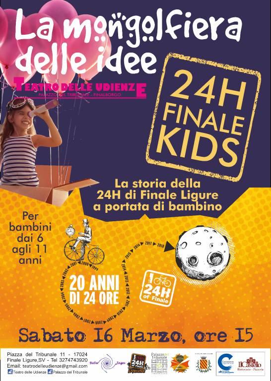 """La Mongolfiera delle Idee - Laboratorio """"24H Finale Kids"""""""