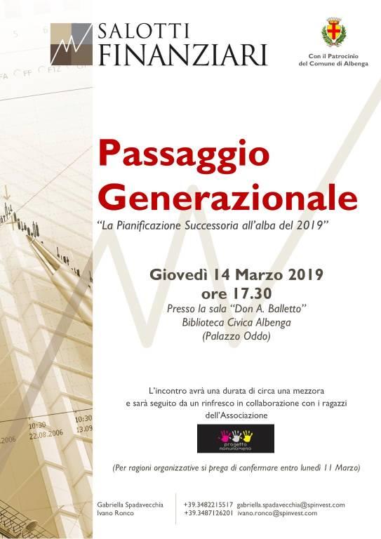"""""""La pianificazione successoria all'alba del 2019"""" conferenza Albenga"""