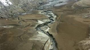 lago Osiglia asciutto siccità