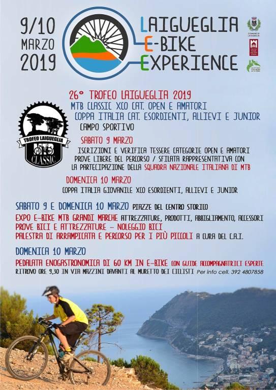 Laigueglia E-Bike Experience 2019