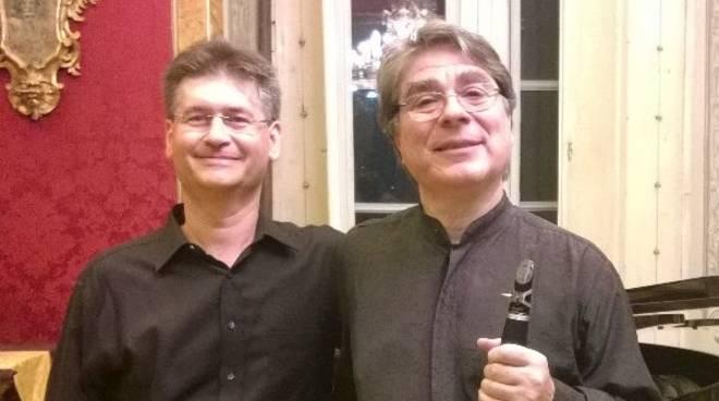 Maurizio Morganti clarinettista e Alessandro Gagliardi pianista