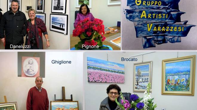 """""""Minimostra Collettiva"""" Varazze - Pignone, Ghiglione,Brocato e Daneluzzi"""