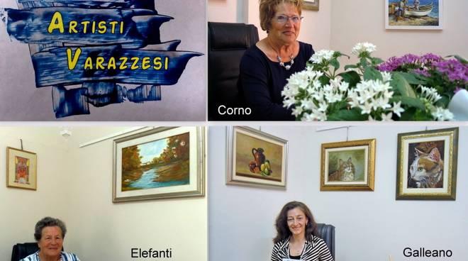 Mostra d'arte Galleano, Elefanti e Corno Gallery Malocello Varazze