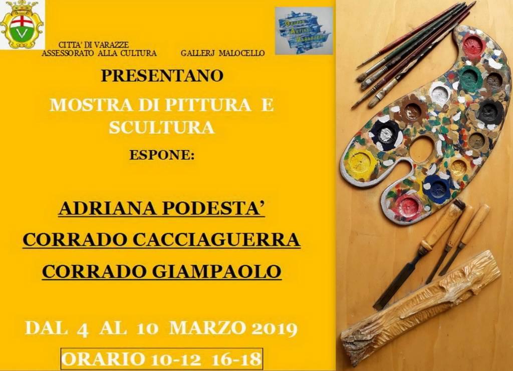 Mostra Gallery Malocello marzo 2019