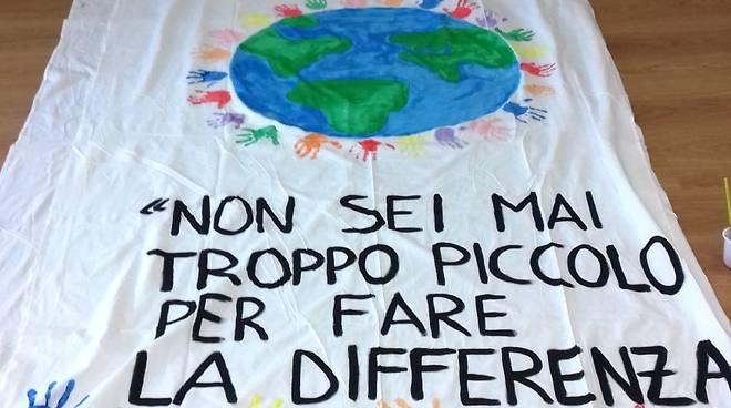 Nido d'infanzia Girotondo Albenga giornata mondiale per il clima