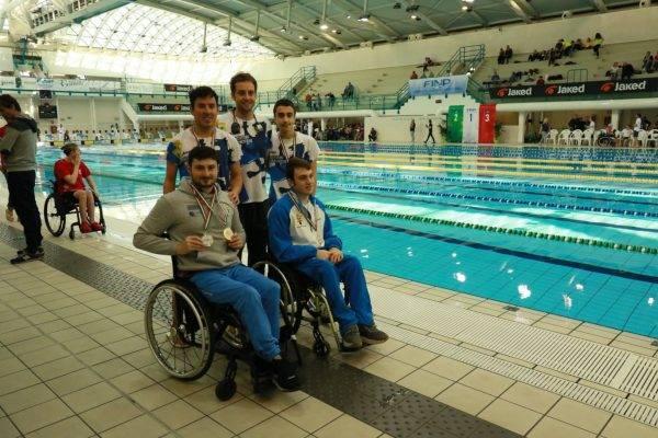 nuotatori paralimpici titoli nazionali