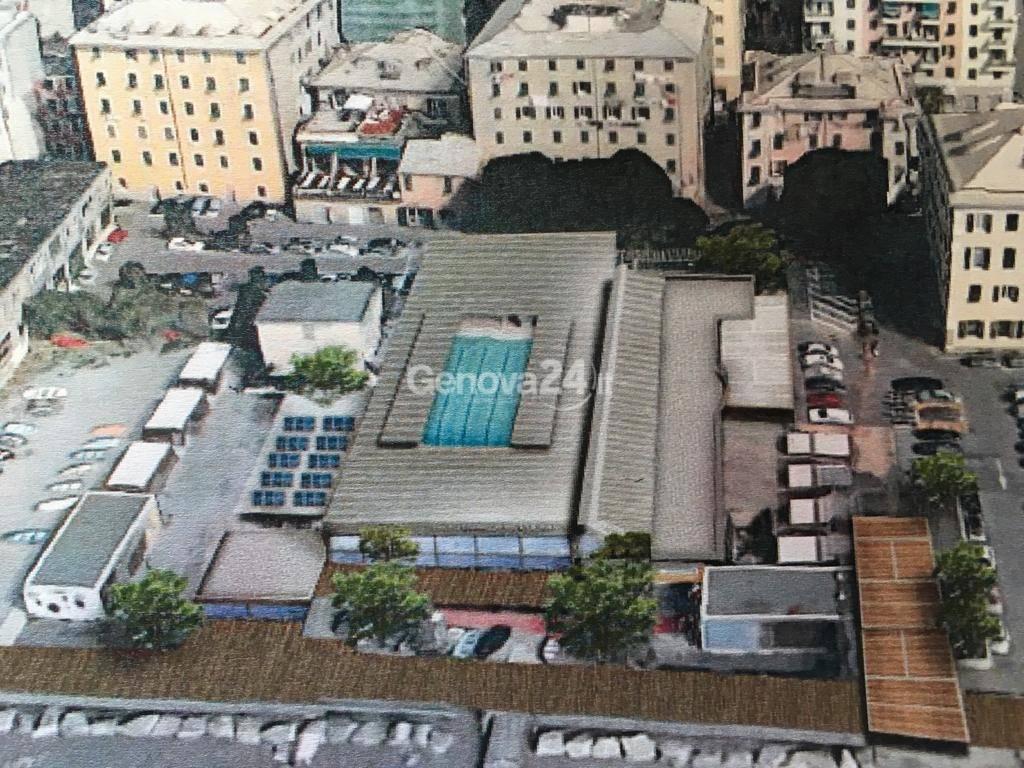 Nuova piscina Mameli di Voltri