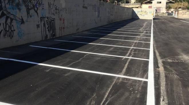 parcheggio di interscambio via opisso