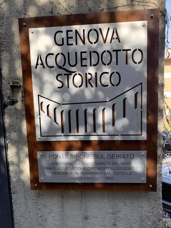 Pulizia acquedotto storico