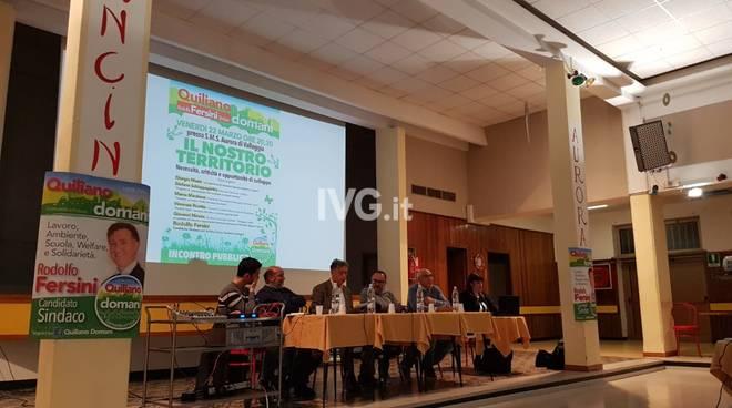 Quiliano Domani, incontro pubblico alla Sms di Valleggia