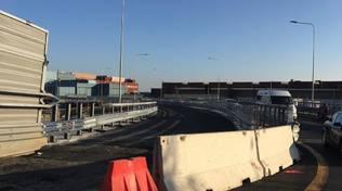 rampa guido rossa cornigliano lotto 10 autostrada