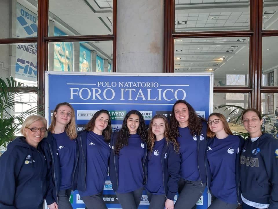 Rari Nantes Bogliasco al campionato italiano invernale Juniores