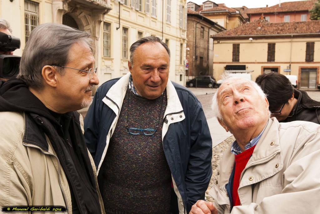 Gian Piero Alloisio e don Gian Piero Armano Benedicta