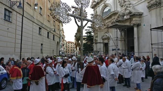 Savona, la processione del 18 marzo
