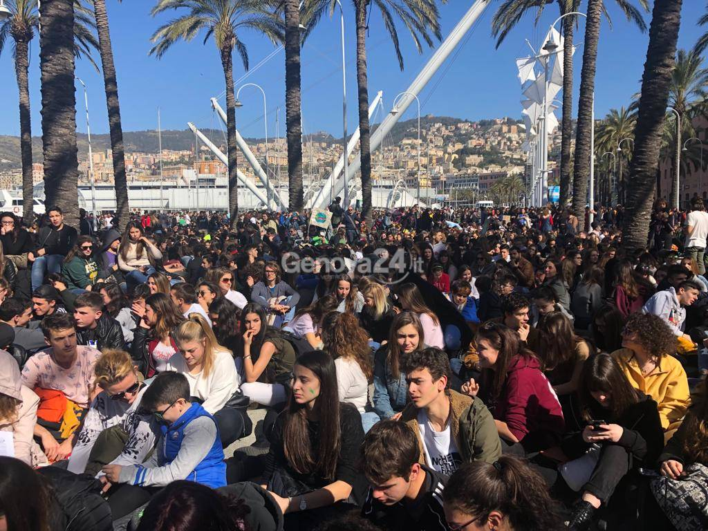 Sciopero per il clima, Fridays for future Genova