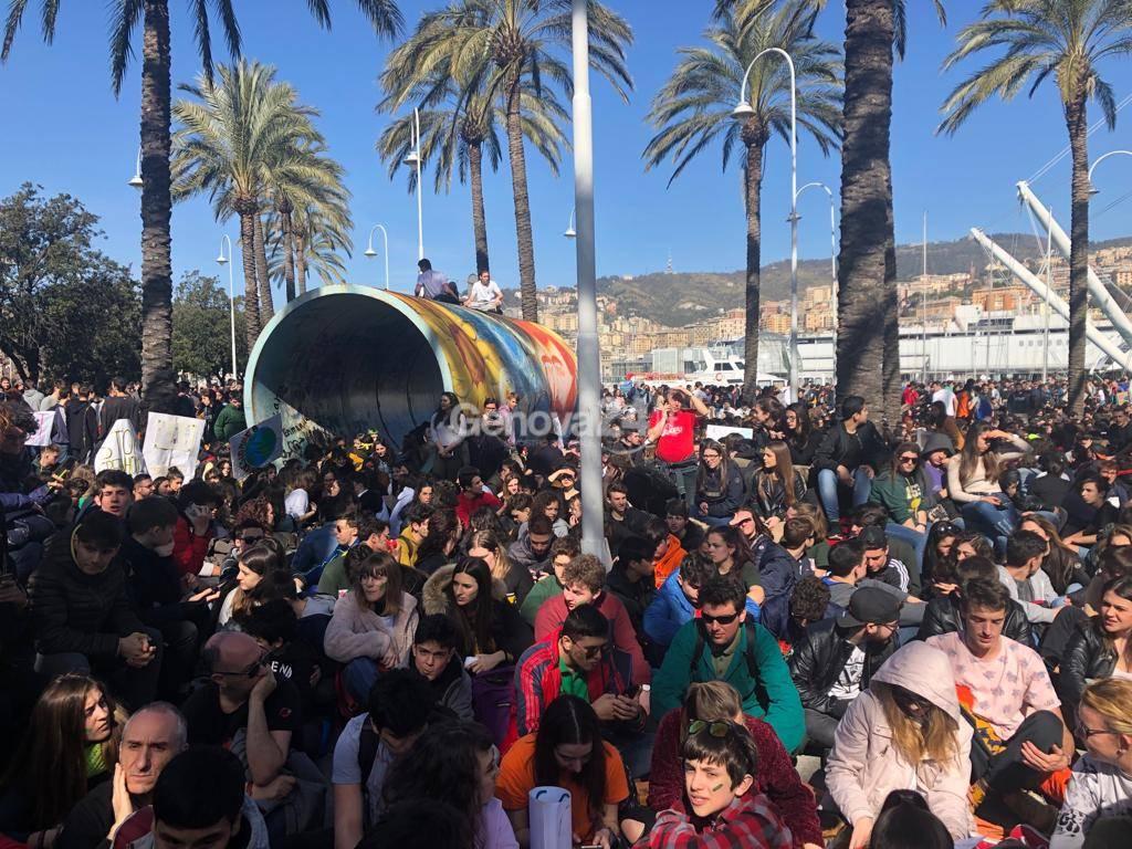 Sciopero per il clima, Fridays for future Genova