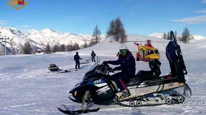 soccorso montagna polizia