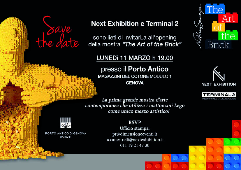 """The Art of the Brick"" mostra LEGO Genova"
