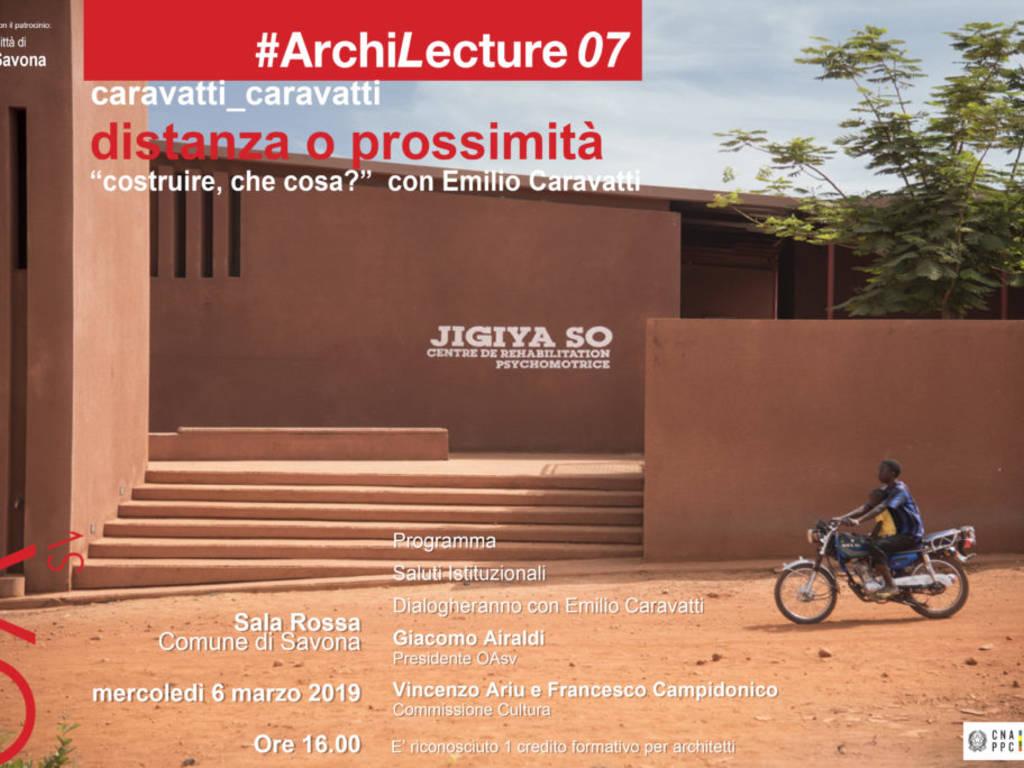 Siti Di Architetti Italiani archilecture 2019, in sala rossa a savona l'intervento dell