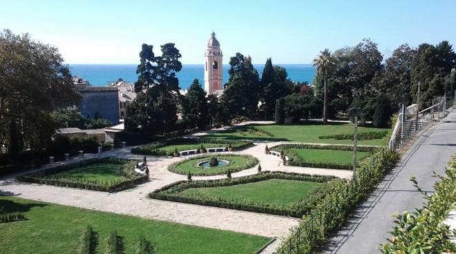 villa duchessa di galliera giardino