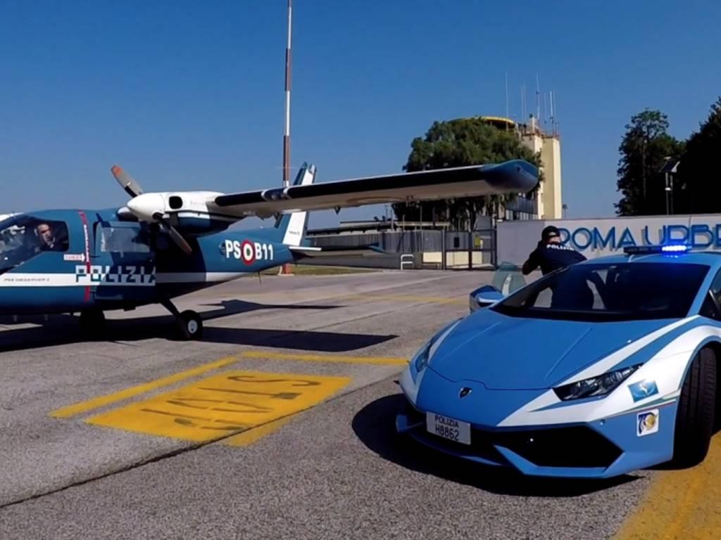 aereo polizia