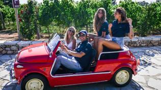 Alassio Classic - Simone Bertolero Fiat 500 Jolly