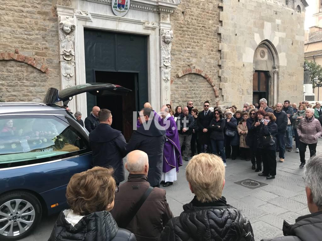 Albenga, l'ultimo saluto a Giuseppina Milazzo