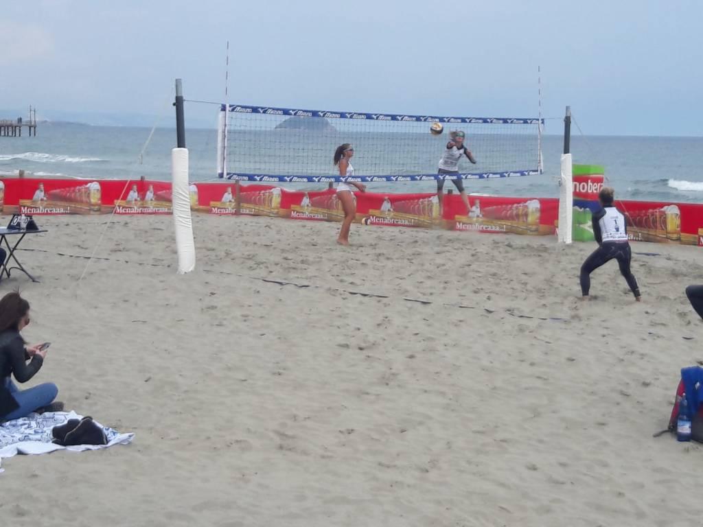 beach volley laigueglia