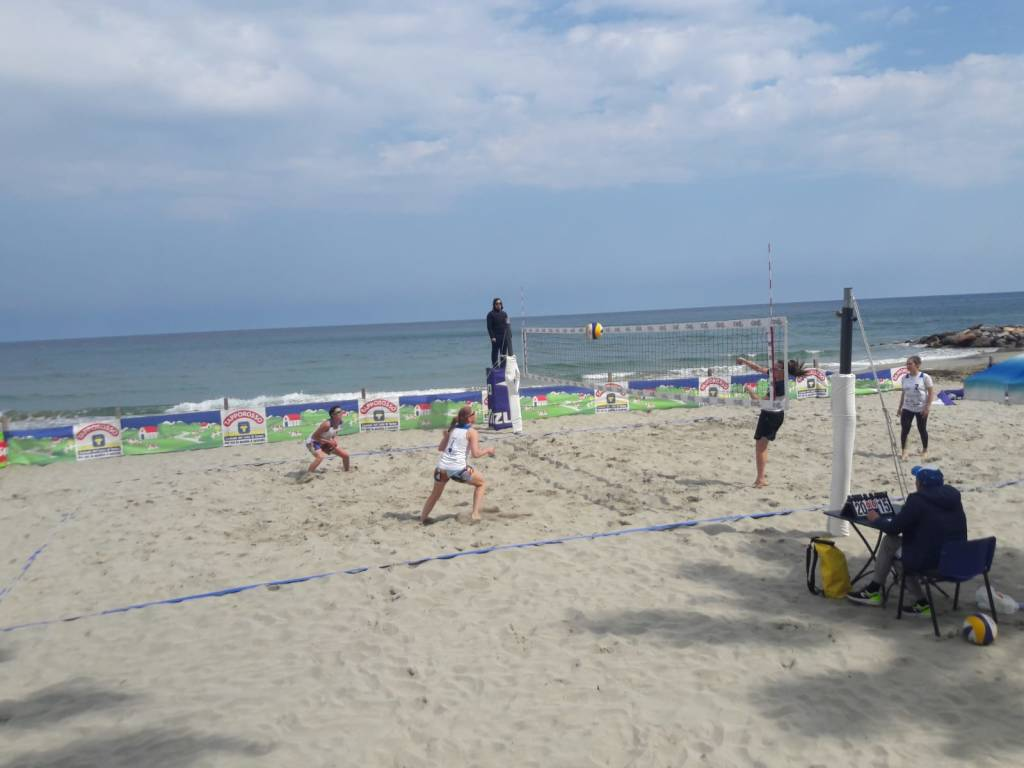 beach volley laigueglia