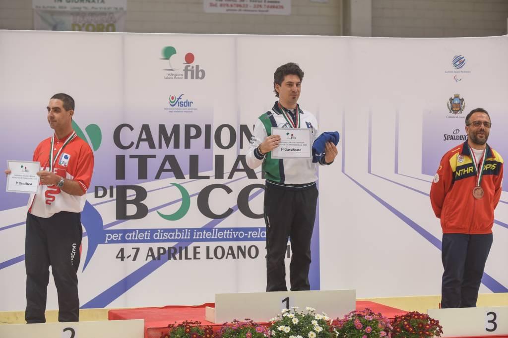 Bocce, campionati italiani Dir: le premiazioni