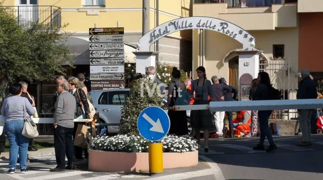 Borgio Verezzi, ciclista urtato da un'auto in via Nazario