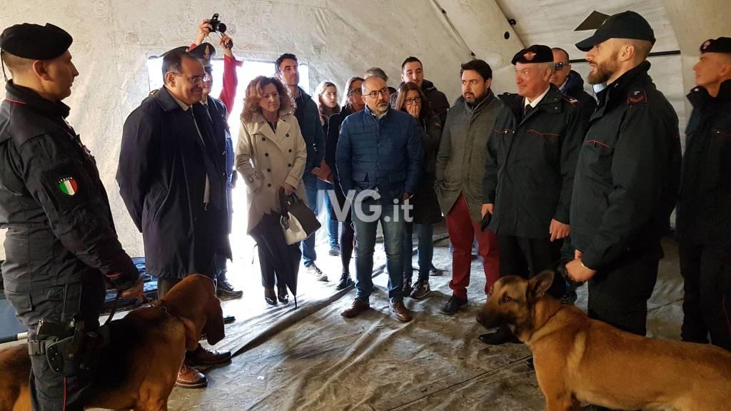 Calamità naturali, esercitazione dei carabinieri a Borghetto Santo Spirito