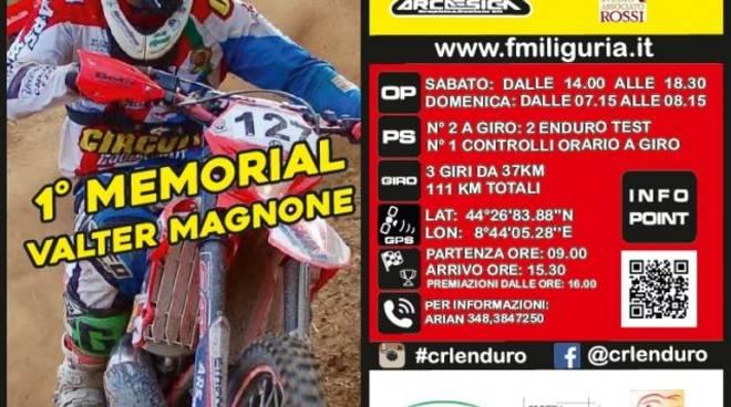 """Campionato Regionale Ligure """"1° Memorial Valter Magnone"""""""