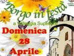 """Oggi pomeriggio a Valleggia la manifestazione """"Borgo in Festa"""""""