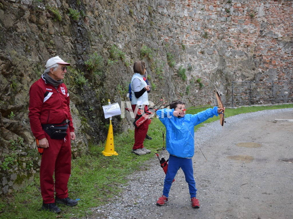 CSI Savona - Arcieri in Fortezza - Priamar Savona 14/IV/219
