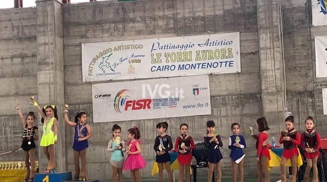 Skate Zinola 2000: Zaccarini e Peluffo in vetta al podio al trofeo interregionale città di Cairo Montenotte
