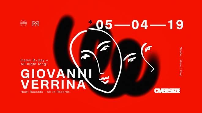 OVERSIZE w: Giovanni Verrina All Night Long